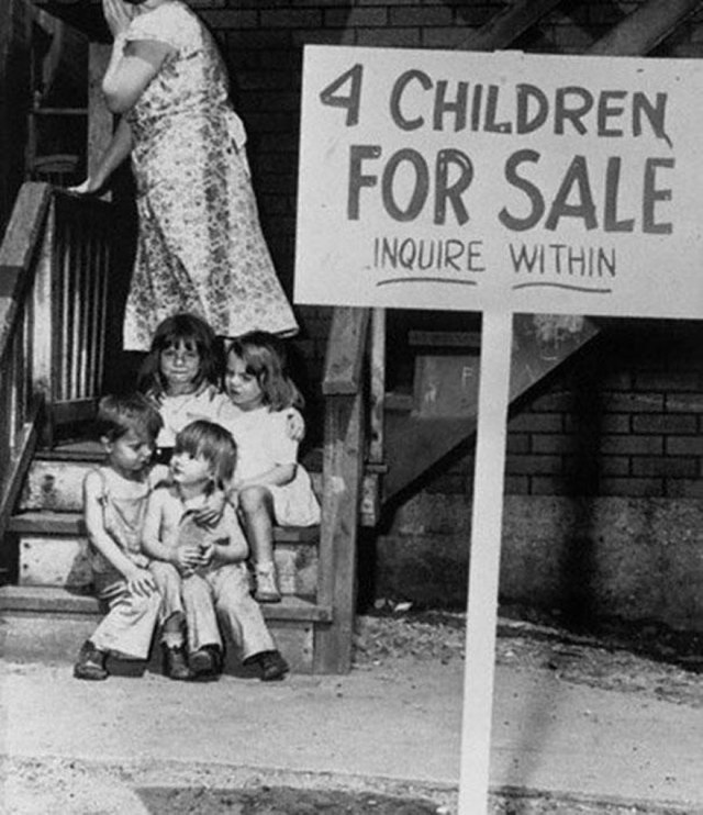 cool-must-see-black-white-historic-moments-children-sale