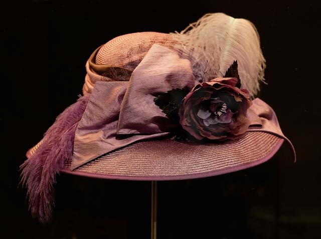 replica-of-an-english-suffragettes-purple-woven-plant-fibre-hat